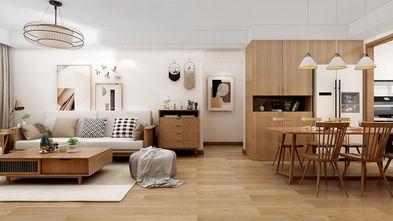 100平米一室两厅日式风格客厅效果图