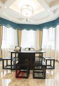 140平米四室一厅中式风格餐厅装修案例