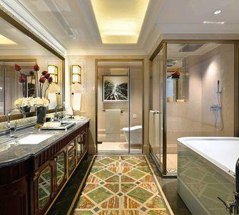 140平米四室两厅新古典风格卫生间欣赏图