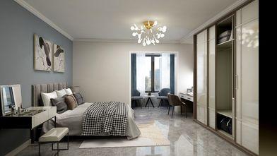 110平米三室两厅中式风格卧室设计图