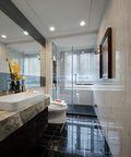 130平米三室两厅宜家风格卫生间图片