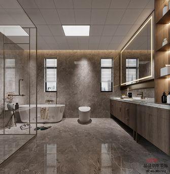 140平米中式风格卫生间欣赏图