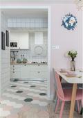 80平米公寓欧式风格厨房欣赏图