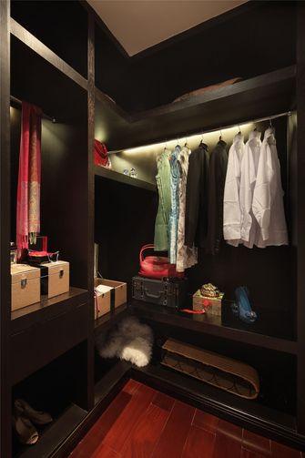 110平米三室两厅中式风格衣帽间图片