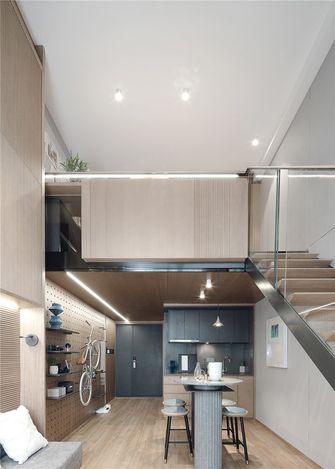 50平米复式日式风格厨房设计图