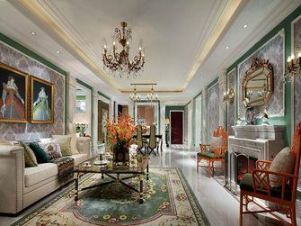 120平米新古典风格客厅图片