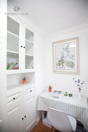 110平米三室两厅美式风格书房图片大全