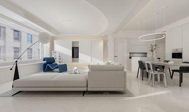 140平米三室一厅现代简约风格客厅图片大全