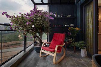 富裕型130平米四室两厅新古典风格阳台图片大全