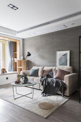 50平米北欧风格客厅装修图片大全