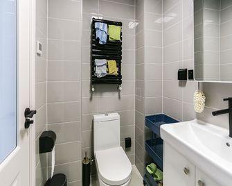 50平米一室一厅中式风格卫生间效果图