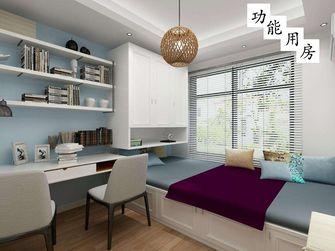 130平米三室一厅欧式风格储藏室图片大全