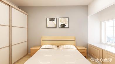90平米三室一厅田园风格卧室装修图片大全