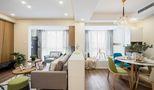 80平米公寓混搭风格客厅欣赏图