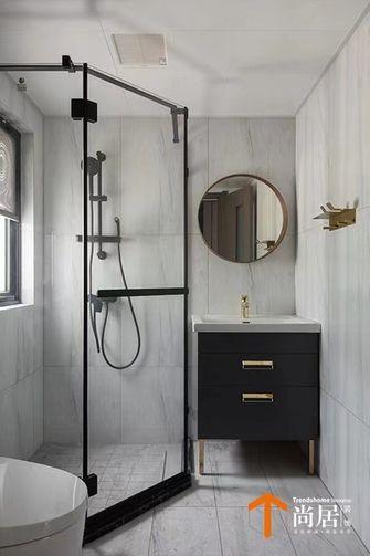 100平米三室两厅现代简约风格卫生间设计图
