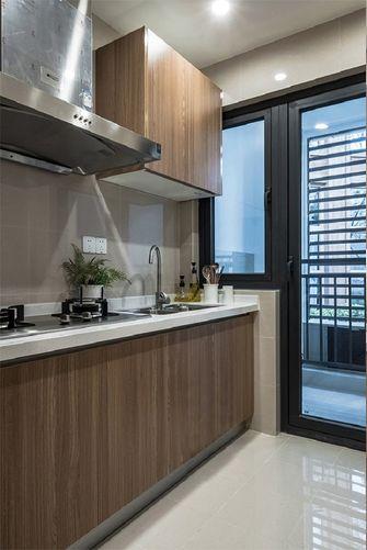 60平米公寓现代简约风格厨房图片大全