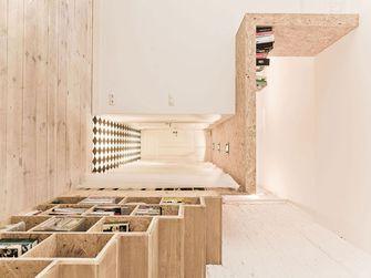60平米复式日式风格楼梯间图