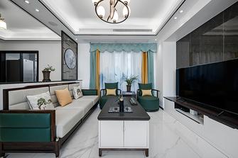 100平米三室两厅新古典风格客厅装修图片大全