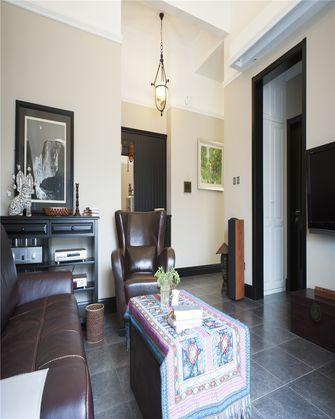 80平米公寓欧式风格客厅图