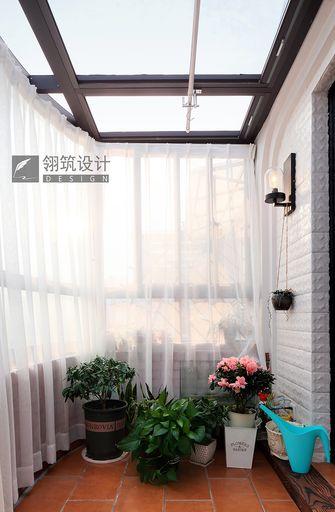 100平米美式风格阳光房设计图