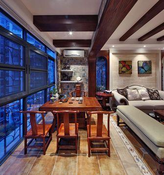 20万以上140平米三室两厅新古典风格阳光房装修效果图