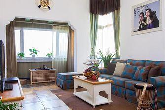 140平米三室两厅地中海风格客厅装修图片大全