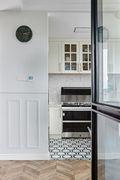 130平米英伦风格厨房欣赏图