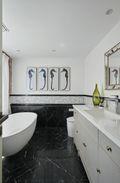 140平米别墅混搭风格卫生间装修效果图