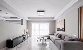 120平米四室兩廳現代簡約風格客廳設計圖