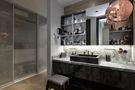 90平米一居室混搭风格卫生间装修图片大全