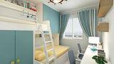 80平米地中海风格儿童房效果图