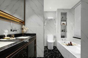 110平米三室一厅混搭风格卫生间设计图