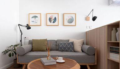 50平米日式风格客厅图片