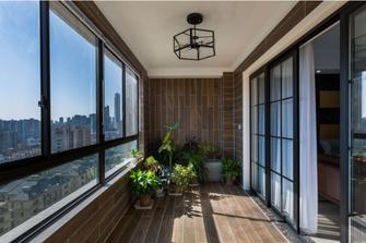 60平米公寓北欧风格阳台图片