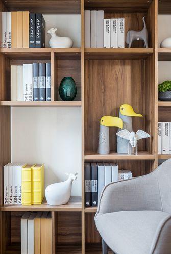 120平米三室一厅宜家风格书房图片