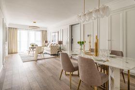 100平米四室兩廳美式風格餐廳圖片大全
