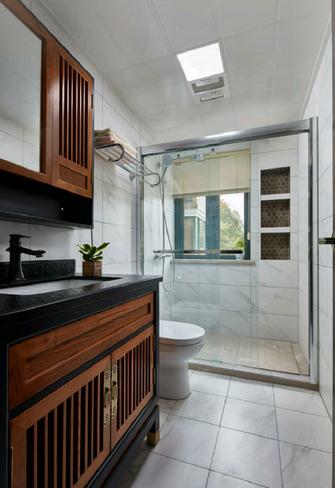 110平米中式风格卫生间装修图片大全