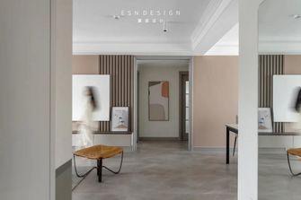 130平米三室三厅现代简约风格走廊欣赏图