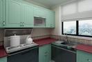 100平米三美式风格厨房效果图