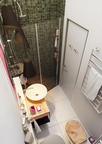 40平米小户型北欧风格卫生间装修案例