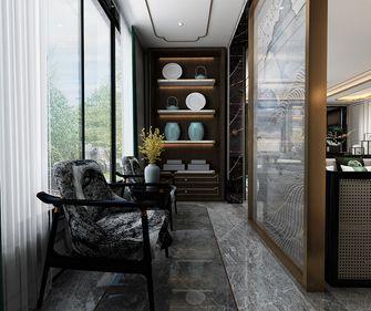 140平米别墅中式风格阳台装修图片大全