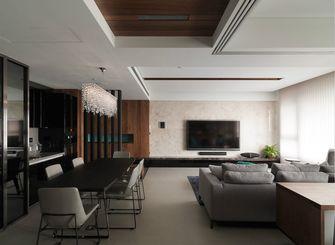 120平米三室两厅现代简约风格餐厅沙发图片大全