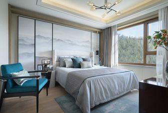 110平米三室两厅混搭风格卧室装修图片大全
