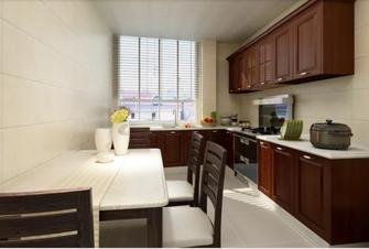 110平米一居室中式风格厨房欣赏图
