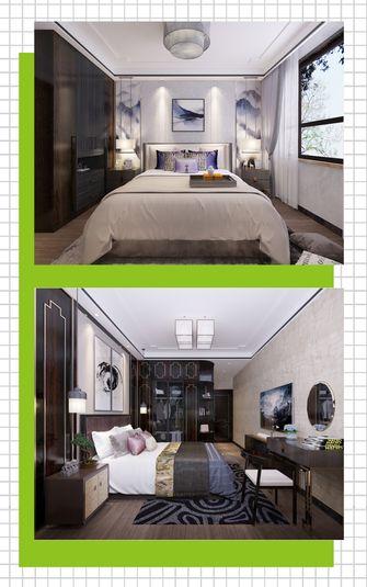 110平米四室两厅中式风格卧室装修效果图