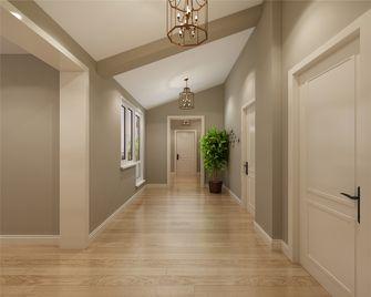 120平米三室两厅田园风格走廊图片大全