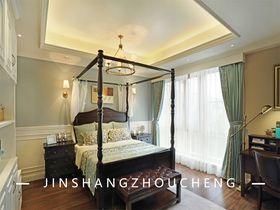 140平米別墅法式風格臥室圖片