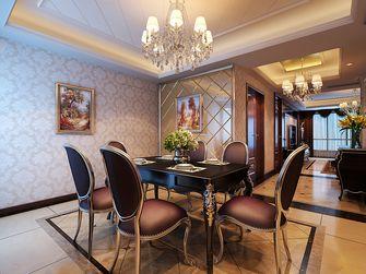 140平米四室一厅英伦风格餐厅装修案例