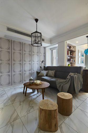 90平米混搭风格客厅图片