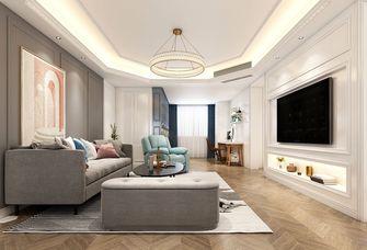 120平米三室三厅美式风格客厅欣赏图